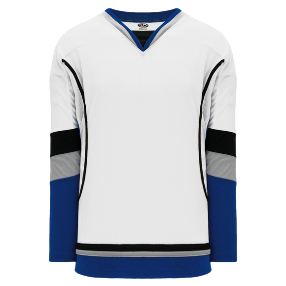 Athletic Knit (AK) H550C-TAM897C New 2009 Tampa Bay Lightning Third White Hockey Jersey
