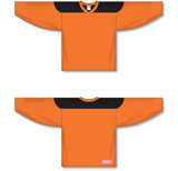 Athletic Knit (AK) H6100 Orange/Black League Hockey Jersey - PSH Sports