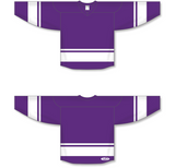 Athletic Knit (AK) H6400 Purple/White League Hockey Jersey - PSH Sports