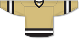 Athletic Knit (AK) H6500 Vegas Gold/Black/White League Hockey Jersey - PSH Sports