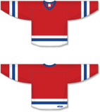 Athletic Knit (AK) H6500 Red/White/Royal Blue League Hockey Jersey - PSH Sports