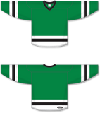 Athletic Knit (AK) H6500 Kelly Green/White/Black League Hockey Jersey - PSH Sports