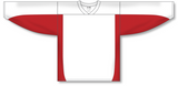 Athletic Knit (AK) H7100 White/Red Select Hockey Jersey - PSH Sports