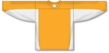 Athletic Knit (AK) H7100 Gold/White Select Hockey Jersey - PSH Sports