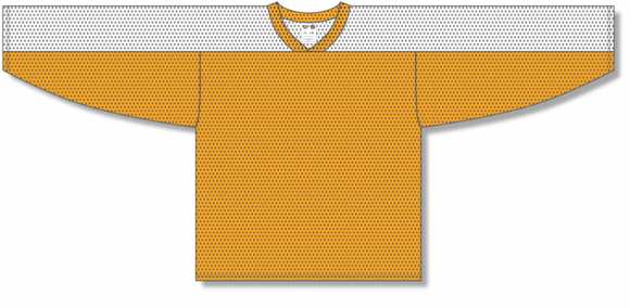 Athletic Knit (AK) LB153 Gold/White Box Lacrosse Jersey