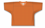 Athletic Knit (AK) LF151 Orange Field Lacrosse Jersey - PSH Sports
