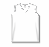 Athletic Knit (AK) LF635L-000 Ladies White Field Lacrosse Jersey