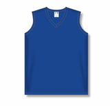 Athletic Knit (AK) LF635L Ladies Royal Blue Field Lacrosse Jersey