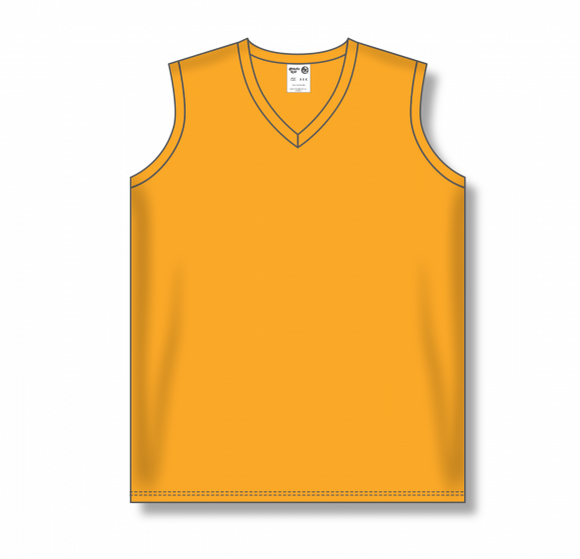 Athletic Knit (AK) BA635L Ladies Gold Softball Jersey