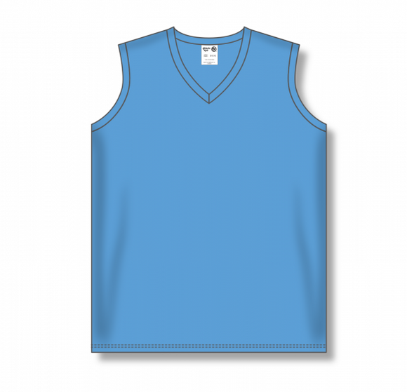 Athletic Knit (AK) BA635L Ladies Sky Blue Softball Jersey