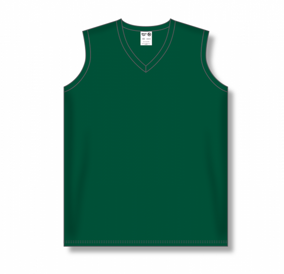 Athletic Knit (AK) BA635L Ladies Dark Green Softball Jersey