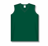 Athletic Knit (AK) BA635L-029 Ladies Dark Green Softball Jersey