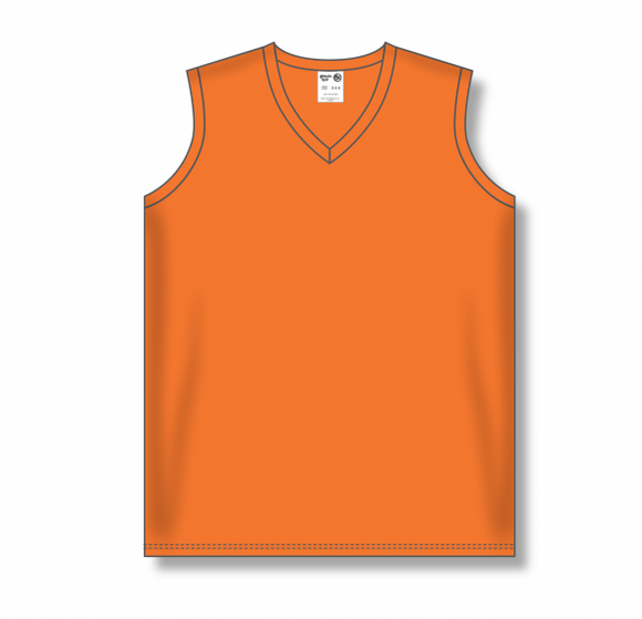Athletic Knit (AK) BA635L Ladies Orange Softball Jersey