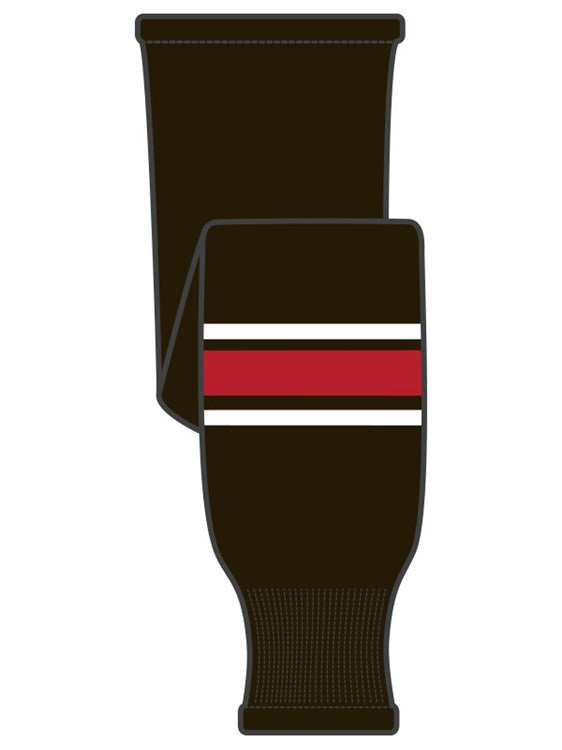 K1 Sportswear Team Canada Black Knit Ice Hockey Socks