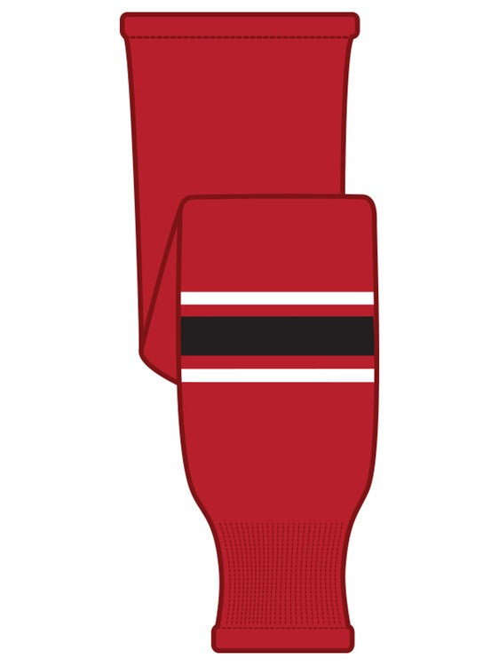 K1 Sportswear Team Canada Red Knit Ice Hockey Socks