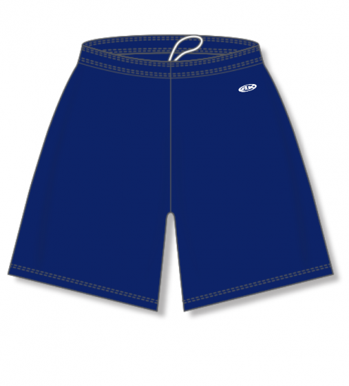 Athletic Knit (AK) BAS1300 Navy Baseball Shorts