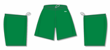 Athletic Knit (AK) BAS1300 Kelly Green Baseball Shorts