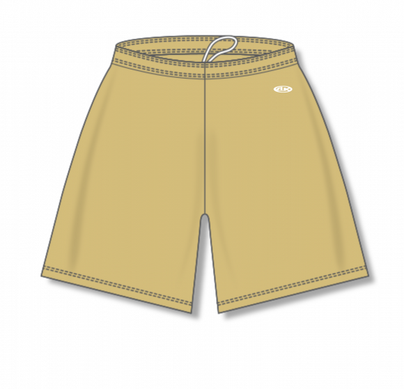 Athletic Knit (AK) BAS1300 Vegas Gold Baseball Shorts