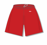 Athletic Knit (AK) BS1700 Red Basketball Shorts