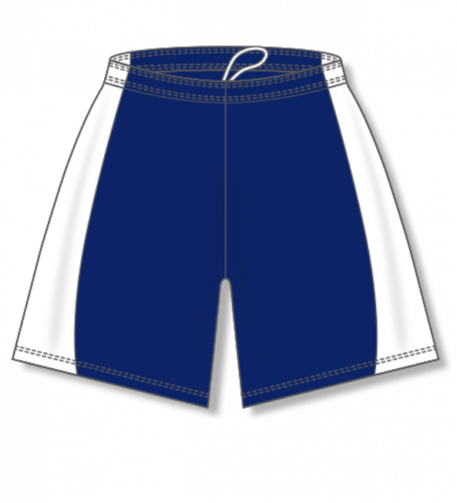 Athletic Knit (AK) BAS605L Navy/White Ladies Baseball Shorts