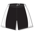 Athletic Knit (AK) LS605L-221 Black/White Ladies Field Lacrosse Shorts