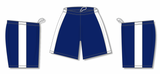 Athletic Knit (AK) BS9145 Navy/White Pro Basketball Shorts