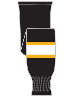 K1 Sportswear Boston Bruins Black Knit Ice Hockey Socks