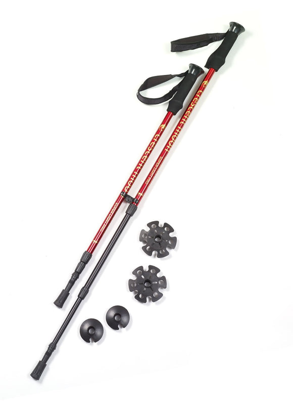 Crescent Moon Collapsible Snowshoe Poles - PSH Sports