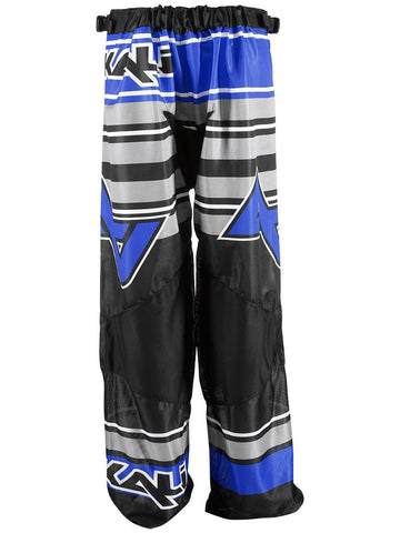Alkali RPD Comp+ Inline Hockey Pants - Junior - Black/Blue STRIPE