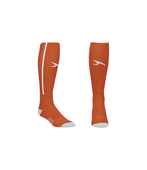 Score Sports Elite 828 Orange/White Performance Socks