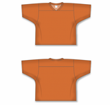 Athletic Knit (AK) TF151 Orange Touch Football Jersey