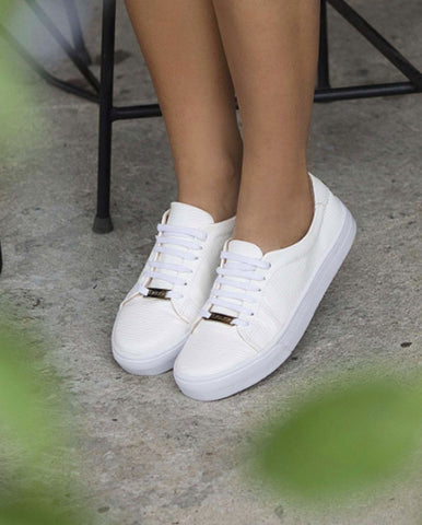 SNEAKERS BAMBU WHITE
