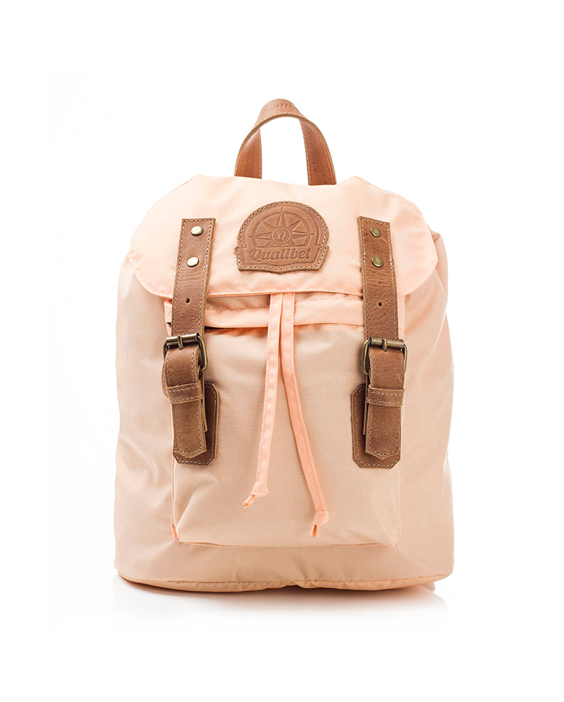 MINI BACKPACK COLORES PASTEL NUDE