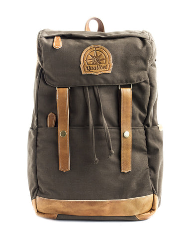 RIDE BACKPACK GREEN X TABACO