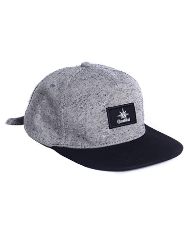 SIX PANNEL CAP ECO X BLACK