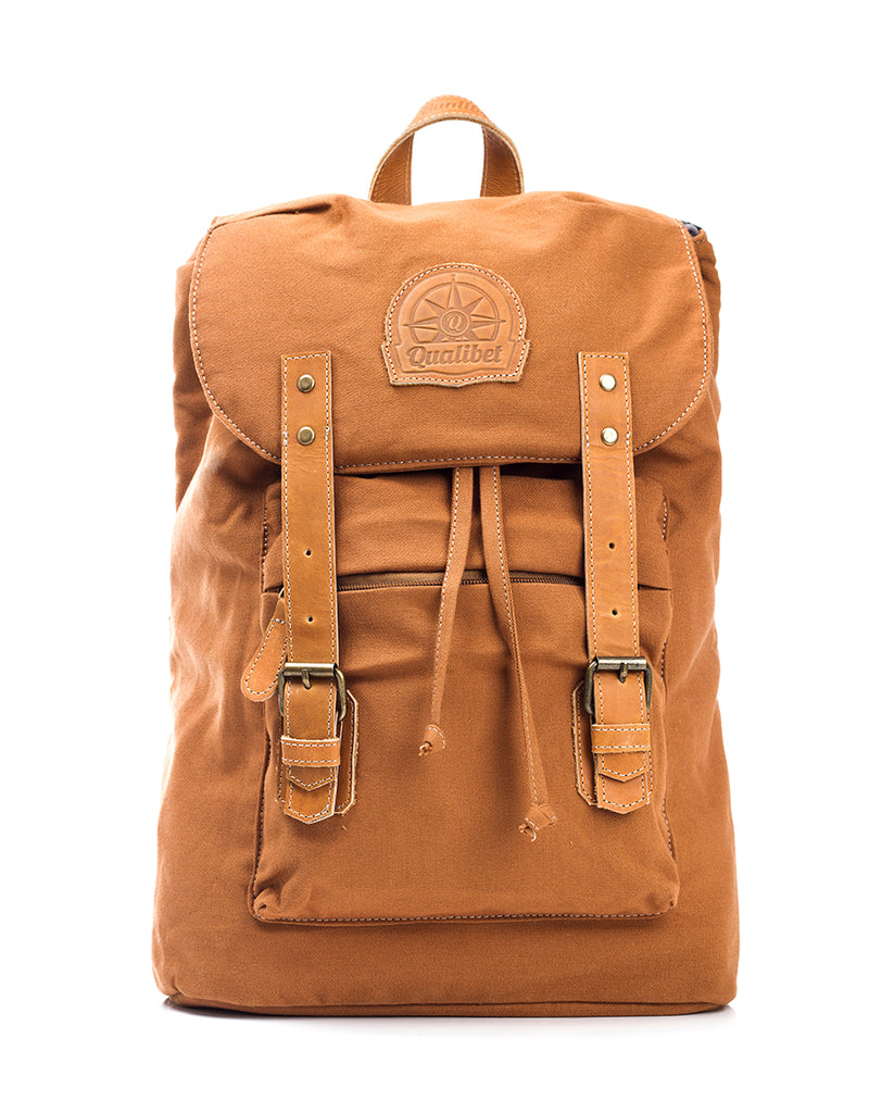 STREET BACKPACK BROWN TABACO