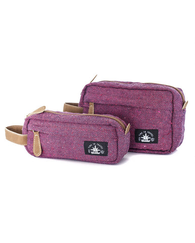 TRAVEL CASE KIT ETHNIC PINK