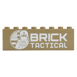 BrickTactical Badge Brick