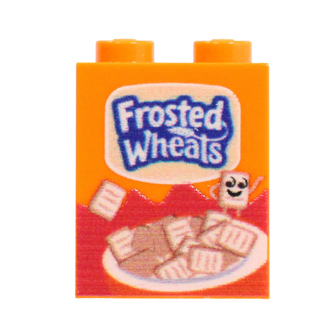 Frosted Wheat Cereal Box