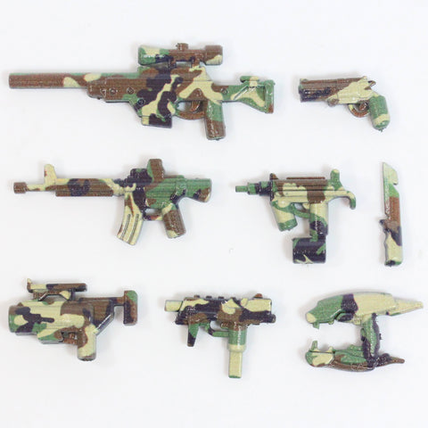 Woodland Camo Weapon Pack