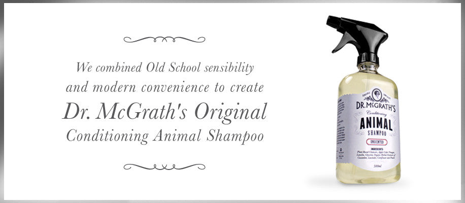 dr mcgrath dog shampoo animal natural