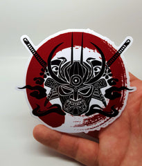 Samurai Enso Blood Circle Sticker , Sticker - A Vol d'Oiseau, A Vol d'Oiseau  - 2