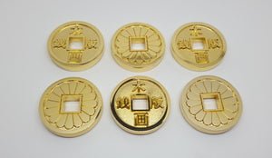Japanese Style Coins (Set of 6) , coin - A Vol d'Oiseau, A Vol d'Oiseau  - 4