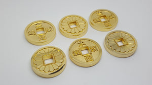 Japanese Style Coins (Set of 6) , coin - A Vol d'Oiseau, A Vol d'Oiseau  - 3