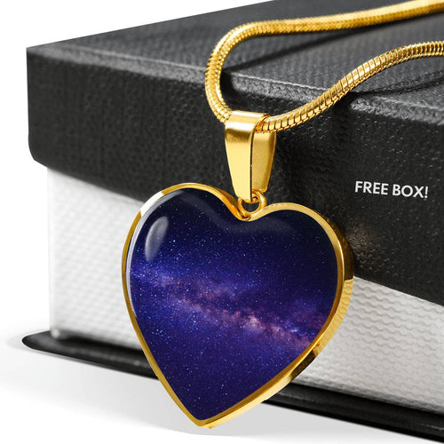 Across The Galaxy - Heart Pendant
