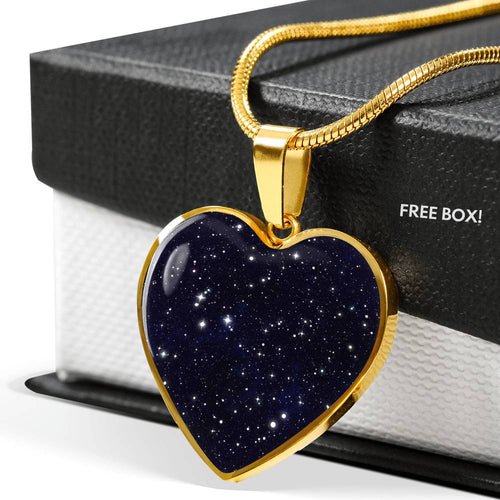 A Thousand Stars - Heart Pendant