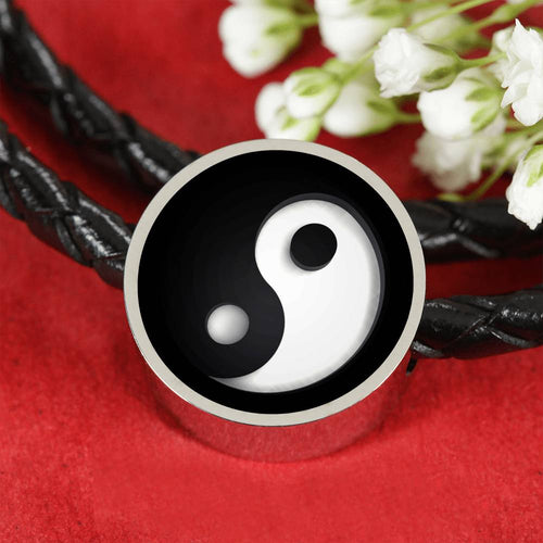 Yin & Yang - Leather Bracelet