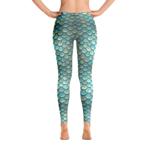 Aqua Woman - Leggings