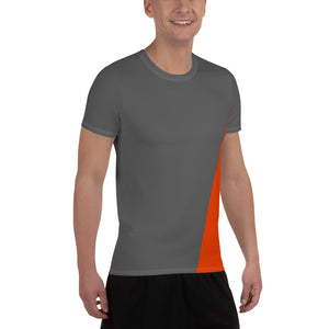 Tracking Down Progress - Men's Athletic T-shirt