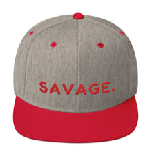 Load image into Gallery viewer, Savage - Snapback Hat